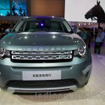 Land Rover Discovery Sport front at 2014 Guangzhou Auto Show