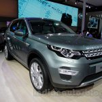 Land Rover Discovery Sport front quarters at 2014 Guangzhou Auto Show
