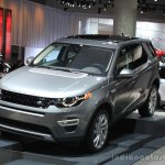 Land Rover Discovery Sport front three quarters at the 2014 Los Angeles Auto Show
