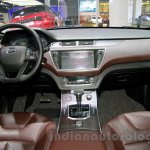 Landwind X7 dash at the Guangzhou Auto Show 2014