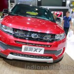 Landwind X7 front at the Guangzhou Auto Show 2014