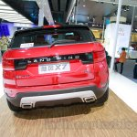 Landwind X7 rear at the Guangzhou Auto Show 2014