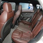 Landwind X7 rear seats at the Guangzhou Auto Show 2014
