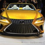 Lexus LF-C2 concept front at the 2014 Los Angeles Auto Show