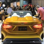 Lexus LF-C2 concept rear fascia at the 2014 Los Angeles Auto Show