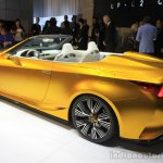 Lexus LF-C2 concept rear three quarters left at the 2014 Los Angeles Auto Show