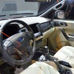 Live 2015 Ford Endeavour interior