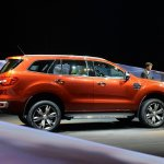 Live 2015 Ford Endeavour rear quarter