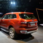 Live 2015 Ford Endeavour rear quarters