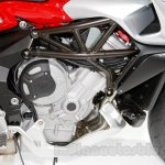MV Agusta Stradale 800 engine at EICMA 2014