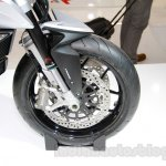 MV Agusta Stradale 800 front disc at EICMA 2014
