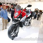 MV Agusta Stradale 800 front quarter at EICMA 2014