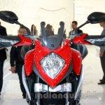 MV Agusta Stradale 800 headlight at EICMA 2014