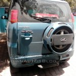Mahindra Quanto AMT rear spied