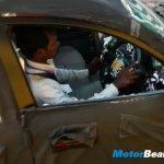 Mahindra S101 interior spied