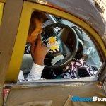 Mahindra S101 steering spied