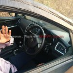 Maruti SX4 S-Cross interior spied