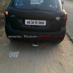 Maruti SX4 S-Cross rear spied
