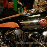 Matchless Model X Reloaded emblem at EICMA 2014