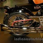 Matchless Model X Reloaded exhaust at EICMA 2014