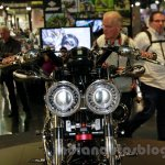 Matchless Model X Reloaded headlights at EICMA 2014