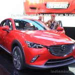 Mazda CX-3 front three quarters at the 2014 Los Angeles Auto Show