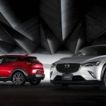 Mazda CX-3 leaked front and rear