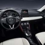 Mazda CX-3 leaked interior