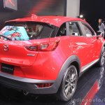 Mazda CX-3 rear three quarters at the 2014 Los Angeles Auto Show