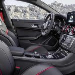 Mercedes CLA 45 AMG Shooting Brake interior