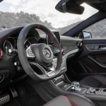 Mercedes CLA 45 AMG Shooting Brake interiors