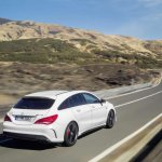 Mercedes CLA 45 AMG Shooting Brake rear quarters