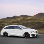 Mercedes CLA 45 AMG Shooting Brake side