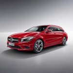 Mercedes CLA Shooting Brake front quarter
