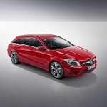 Mercedes CLA Shooting Brake front quarters
