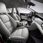 Mercedes CLA Shooting Brake seats