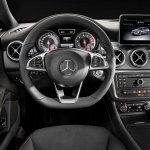 Mercedes CLA Shooting Brake steering