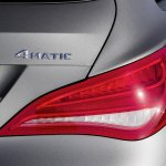 Mercedes CLA Shooting Brake taillight