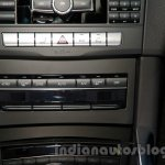 Mercedes E180L center console at Guangzhou Auto Show 2014