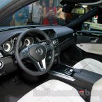 Mercedes E180L dashboard at Guangzhou Auto Show 2014