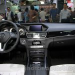 Mercedes E180L interior at Guangzhou Auto Show 2014
