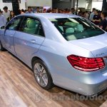 Mercedes E180L rear quarter at Guangzhou Auto Show 2014