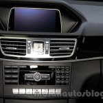 Mercedes E180L screen at Guangzhou Auto Show 2014