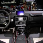 Mercedes G 500 Rock Edition dashboard at Guangzhou Auto Show 2014