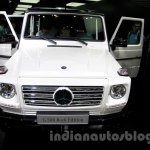 Mercedes G 500 Rock Edition front at Guangzhou Auto Show 2014