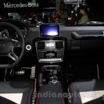 Mercedes G 500 Rock Edition interior at Guangzhou Auto Show 2014