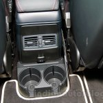Mercedes G 500 Rock Edition rear cupholders at Guangzhou Auto Show 2014