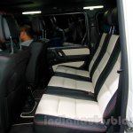 Mercedes G 500 Rock Edition rear seat at Guangzhou Auto Show 2014