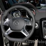 Mercedes G 500 Rock Edition steering wheel at Guangzhou Auto Show 2014