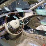 Mercedes-Maybach S600 dash at the 2014 Guangzhou Auto Show